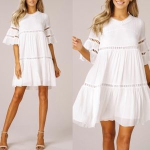 CATARINA Babydoll Dress - IVORY